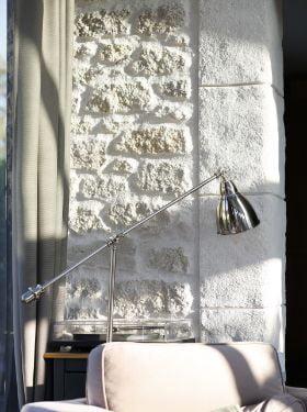 mur interieur imitation pierre