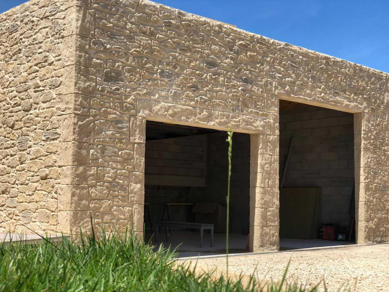 Façade maison moderne à Uzès (30)