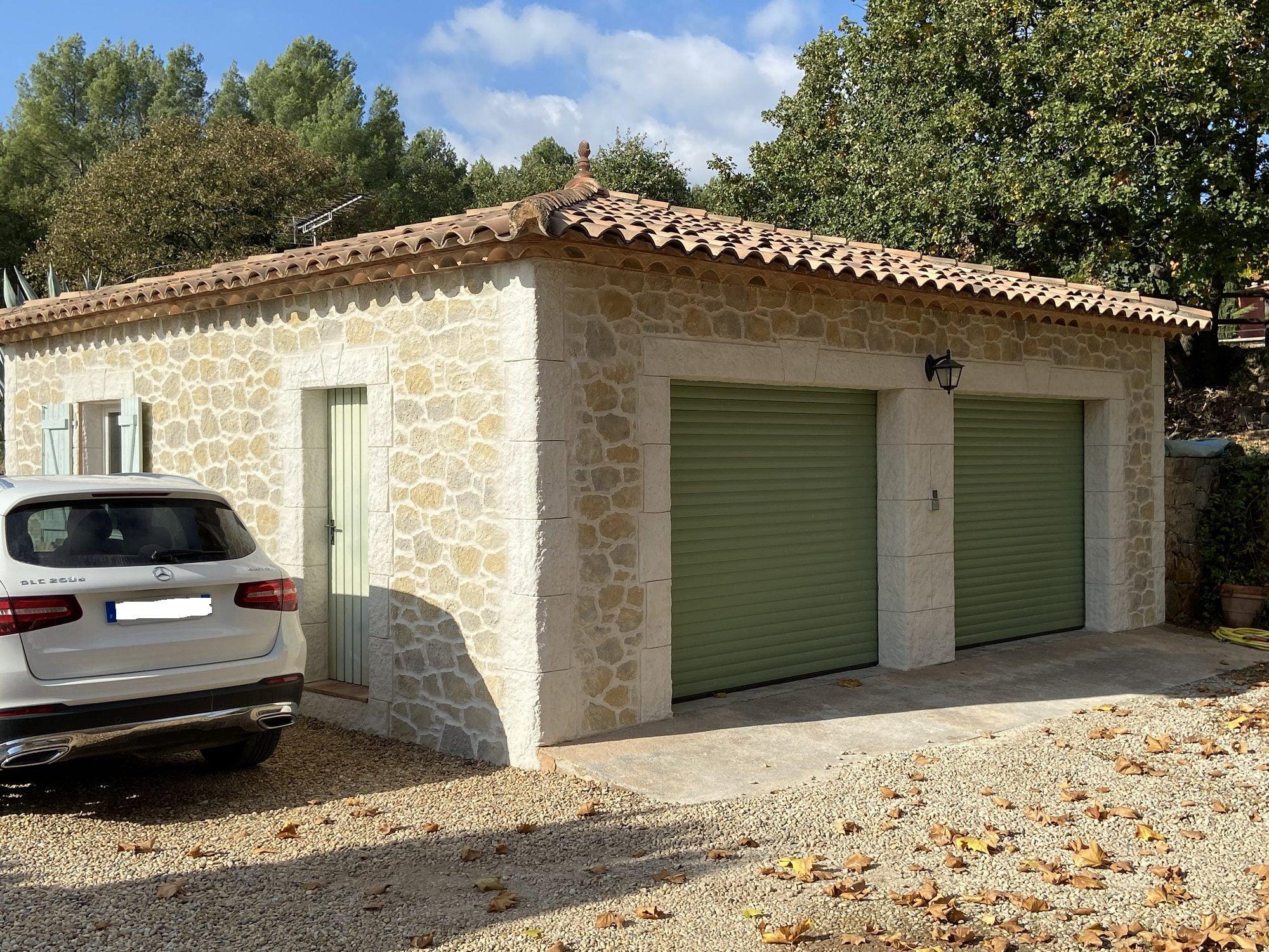 Rénovation  de façade d'une villa à Salernes (83)