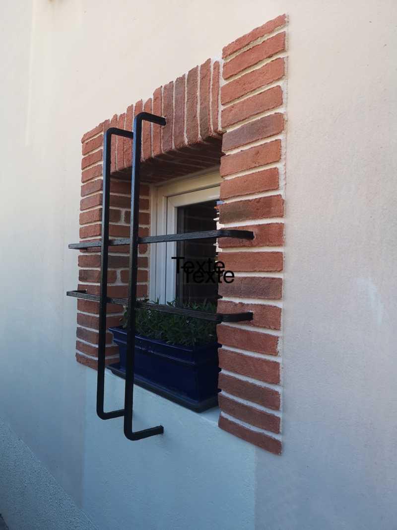 Création de briquettes, contours portes et fenêtres à Toulouse (31)