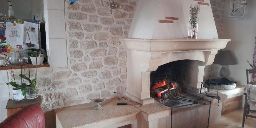 Mur intérieur en aspect pierres Villefranche-de-Lauragais
